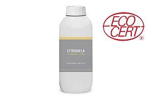 1L Óleo essencial de Citronela (Cymbopogon nardus) ORGÂNICO