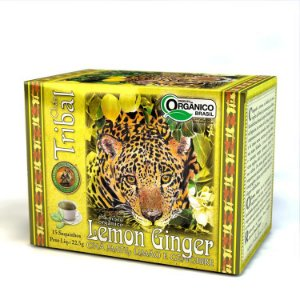 Chá Tribal Erva Mate Lemon Ginger - sachê