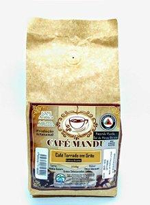 CAFÉ MANDU EM GRÃOS -100% ARÁBICA - PRODUTO ARTESANAL - 250g