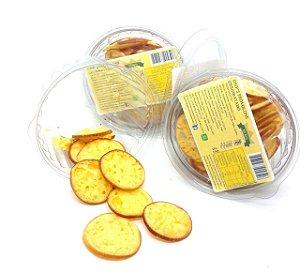 Chips de Provolone desidratado 90g - (Bolacha de Provolone)