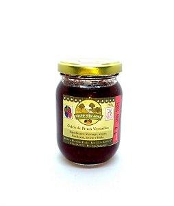 Geleia de Frutas Vermelhas - artesanal 280g - Sitio São José Itatiba