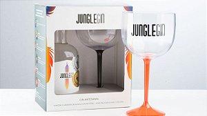 Kit Jungle Gin - 375ml acompanhada de uma taça exclusiva