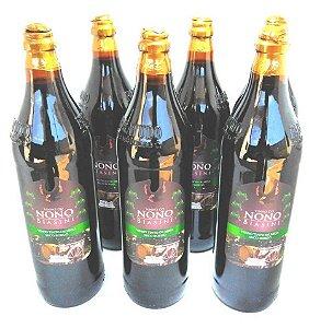 Vinho Nono Biasini Bordo Seco 880ml - (cx 6 garrafas)