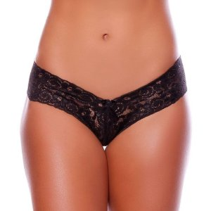 TANGA FIO DENTAL RENDA CHARLOTE YULLY SENSUAL