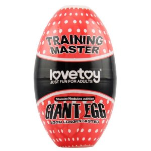 BIG EGG MASTURBADOR OVO GIGANTE NODULES GTOYS