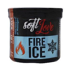 TRIBALL BOLINHA FIRE & ICE 12G 03 UNIDADES SOFT LOVE