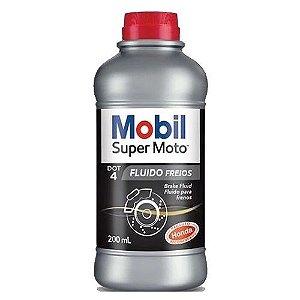 MOBIL DOT 4 Fluído para Freio 4 Sintético Super Moto Mobil 200ml