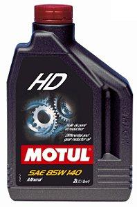 MOTUL 85W140 Óleo HD 2 Litros Mineral
