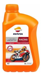 Repsol 10W40 Racing 100% Sintético API SN 4T JASO MA2