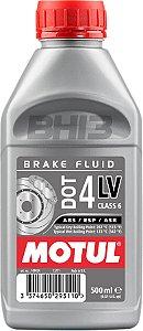 MOTUL DOT 4 LV CLASSE 6 Fluído De Freio 500ml Brake Fluid