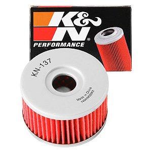 K&N KN-137 Filtro De Óleo K&n Suzuki Dr650 Dr800 Savage Gsx750 KN137