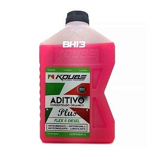 Koube Rosa Aditivo Concentrado Orgânico PLUS Para Radiador 2 Anos ou 60.000km