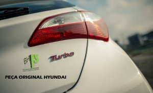 Emblema Turbo Hyundai Original De Fábrica