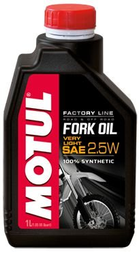 Óleo Motul Fork oil Factory Line Very Light 2,5w