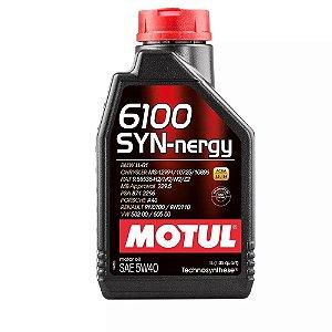 5W40 Sintético Motul Óleo Motor 6100 Syn-Nergy
