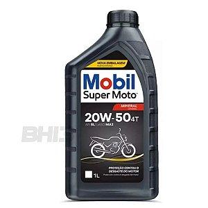 Óleo Mobil Super Moto 20w50 Mineral 4t