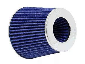 Filtro Ar Kn Cônico Universal Azul Duplo Fluxo Rg-1001bl K&n K & N