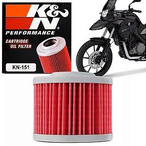 Filtro De Oleo Alta Performace K&N KN151 BMW G650 GS KN-151