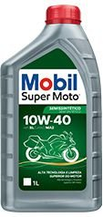 Óleo Mobil 10w40 Super Moto 4t API SL POWER