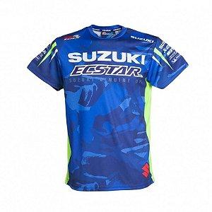 Camiseta Suzuki Motogp Camisa Ecstar Original