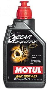 Motul 75W140 100% Sintético Gear Competition Óleo de Cambio