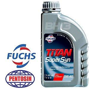 Óleo Titan 5w40 Supersyn Sintético Fuchs Pentosin