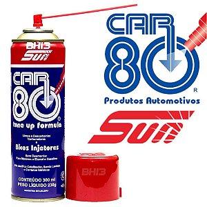 CAR80 Descarbonizante Limpa Bico Limpa TBI e Carburadores 300ml