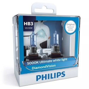 Philips HB3 Diamond Vision 5000k Lâmpada Original
