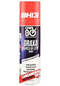 Graxa Branca de Lítio Spray 300ml CAR80