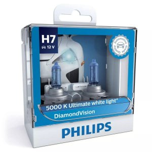 Philips H7 Diamond Vision 5000k Lâmpada