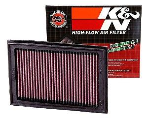 Filtro de Ar K&N KA-2508 para Kawasaki Ninja 250/300