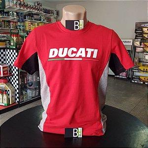 Camisa Ducati Corse Racing Team Camiseta Algodão Ref.263