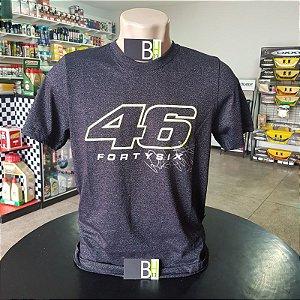 Camisa Yamaha VR46 Valentino Rossi Camiseta Algodão Ref.210