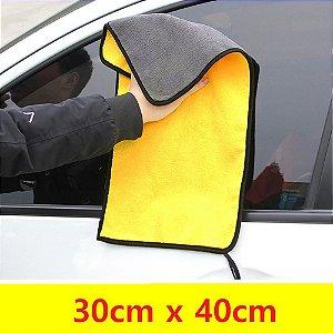 Flanela Microfibra Pano Limpeza Automotiva Carro e Moto