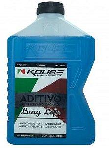 Koube Azul Long Life Aditivo Radiador Concentrado Orgânico 4 Anos ou 100.000km