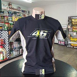 Camisa Yamaha VR46 Valentino Rossi Camiseta Algodão Ref.229