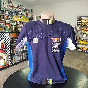 Camisa Red Bull Sport Racing Camiseta Algodão Ref.273a