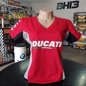 Baby Look Ducati Corse Racing Team Feminina Ref.253
