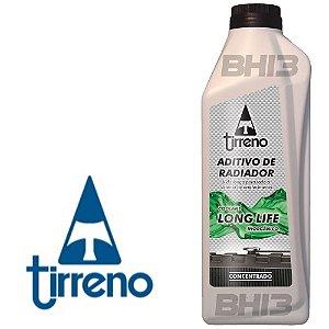 Tirreno Verde Aditivo Radiador Concentrado Coolant Long Life 80.000 Km ou 3 Anos