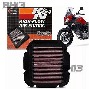 Filtro Ar K&N KN Suzuki V-Strom DL650 DL1000 (02-13) SU-1002