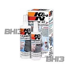 Kit Limpeza Filtro De Cabine Ar Condicionado K&n 99-6000