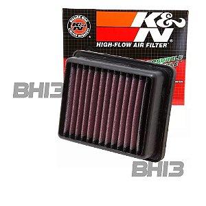 Filtro Ar Kn K&n Ktm Duke 200 (12-18) 390 (12-16) Kt-1211