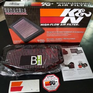 Filtro Ar Triumph Speed Triple 1050 Tb1011 K&n Tb-1011