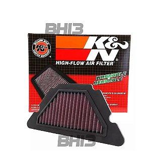 Filtro De Ar K&n Kn Esportivo Yamaha Xj6 Xj6f Xj6n Ya-6009