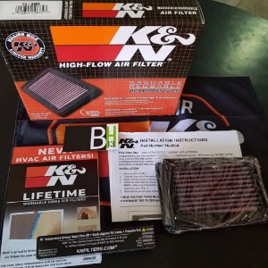 Filtro Ar Ya6604 Xt660 Xt 660 Mt03 K&n Esportivo Kn Ya-6604