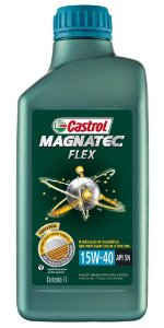 Castrol 15w40 Magnatec Óleo Semissintético Flex API SN