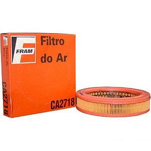 Filtro De Ar Uno Mille 1.0 8v Carburado 90 Até 95 CA2718