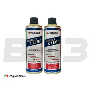 Kit 2 Latas Koube Perfect Clean Álcool Gasolina Gnv Flex
