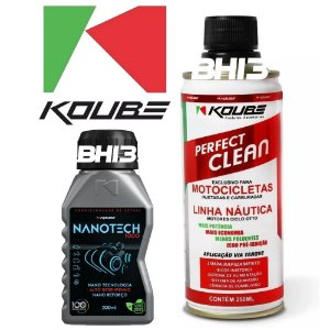 Combo Nanotech + Perfect Clean Koube Moto