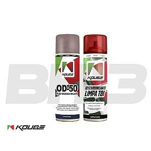 Combo Koube Od-50 Desengripante + Descarbonizante Limpa Tbi